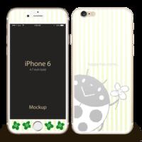 iPhone テントウムシのサンバ デザイン イラスト M@R